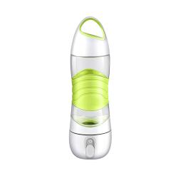 滴滴运动喷雾美容补水杯智能定时提醒饮水杯户外SOS照明便携杯
