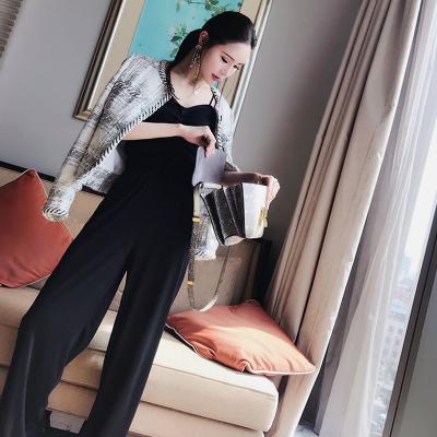 2018年新品时尚潮流百搭休闲显瘦高腰裤