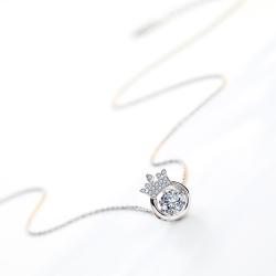 灵动小皇冠款项链 P0365