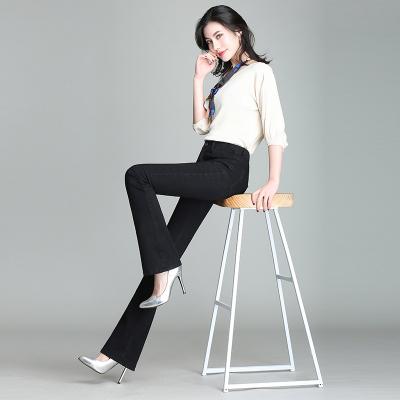 依赖 2018最新韩版时尚气质修身高腰喇叭牛仔裤 907 908 909