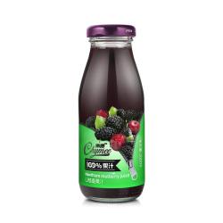 紫美 100%果汁山楂桑果汁