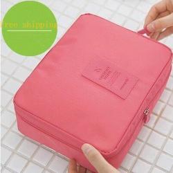 韩版 旅行 大容量 洗漱包 化妆包 收纳包 多功能 bag075
