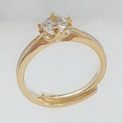 亿钻珠宝 925纯银女戒 RD0004