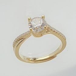 亿钻珠宝 925纯银女戒 RD0005