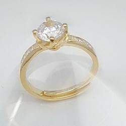 亿钻珠宝 925纯银女戒 RD0008