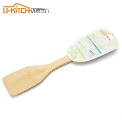 优厨坊竹木铲炒铲木铲子不粘锅专用长柄无漆表面不平厨房用品厨具5032