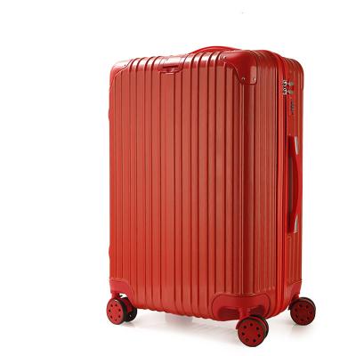 傲世箱包 ABS+PC挂扣款包角旅行箱拉杆箱 两种款式:铝框款 拉链款