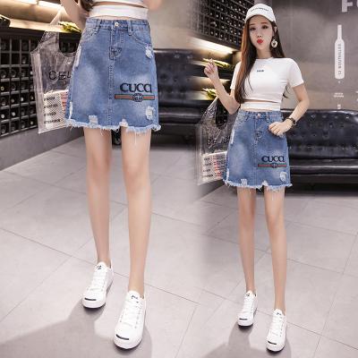 012# 牛仔短裙