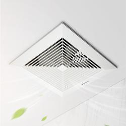 爱美信APT30-S换气扇12寸卫生间厨房卧室排气扇静音直排式抽风机