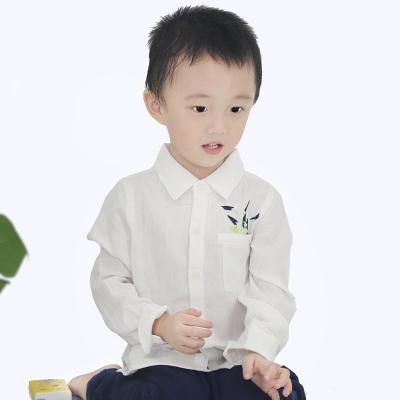 奥祺 口袋绣花衬衣 GK-1830102
