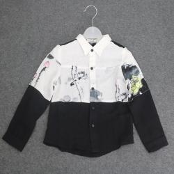 奥祺 拼接衬衫 GK-1830105
