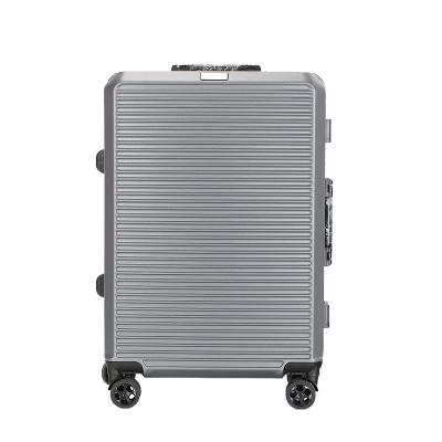 傲世 弧形款横纹拉杆箱行李箱