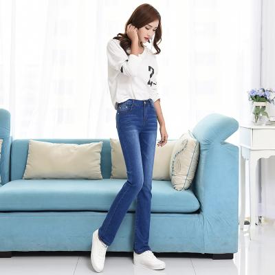 8020#常规直筒牛仔长裤