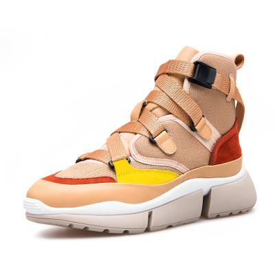 氧气时代 氧气时代 氧气时代 拼色运动鞋女秋冬新款潮流休闲鞋街头潮鞋 YD1801