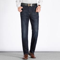 东方龙崛起 商务牛仔裤 7701
