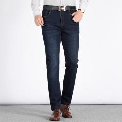 东方龙崛起 商务牛仔裤 7702