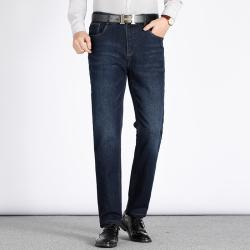 东方龙崛起 商务牛仔裤 7708