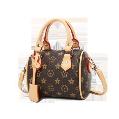 法兰米尔迷你手提包女2018新款时尚韩版休闲小背包大气百搭印花单肩手提包