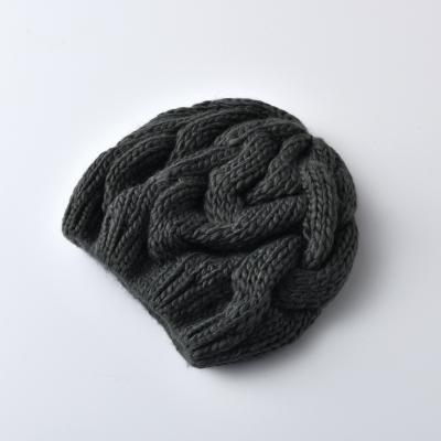 KBB 女士韩版可爱冬季保暖针织帽 KB-109HA