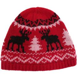 KBB 女士可爱圣诞保暖针织帽 K16-4H