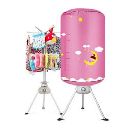 天骏干衣机 TJ-1A338家用双层可折叠烘干机 宝宝专用衣服烘衣机