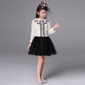 学院风礼服套装(外套)T0192米白