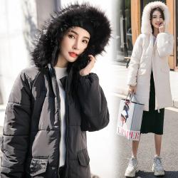 原版做工质量羽绒棉服新款外套女冬面包服韩版加厚中长棉衣