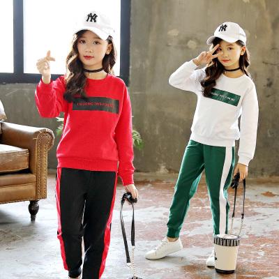 时尚女童运动套装