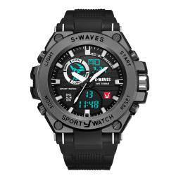 S•WAVES 银浪 男款手表 SW1059