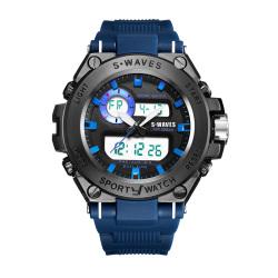 S•WAVES 银浪 男款手表 SW1060
