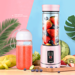 强生 便携式榨汁机家用水果小型迷你型电动榨汁杯摇摇杯