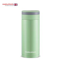 摩飞(Morphyrichards)保温杯 进口304不锈钢便携式真空保温杯MR1012 480ML绿  白