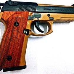 M92A1大小号1:2.05 红花梨CNC加工木托1对