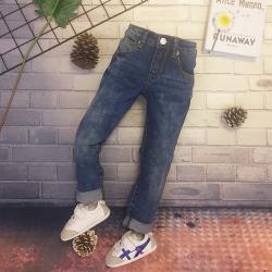 Homidoki 女童牛仔长裤 18028#