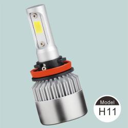 单色LED大灯(内置驱动风扇款式)