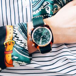 soons迅时 周冬雨同款手表中性时尚手表
