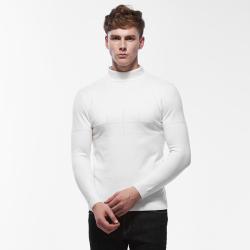 西域铁马 18年新款男士毛衣针织衫保暖 8556