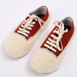 凯雅富尊 网红同款平底毛毛鞋 839