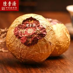 陈李济  云水禅心    柑普茶礼盒           柑普茶+陈皮丝+陈皮普洱茶萃