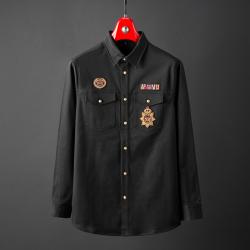 普兰因 重工刺绣衬衣款夹克 811047