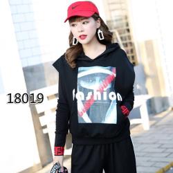 春天物语 2019春秋新款套头图案马甲背心 18019