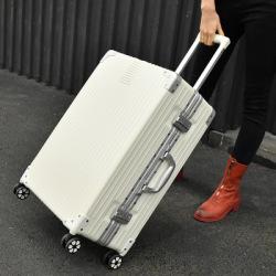 时尚箱包 新款拉杆箱铝合金万向轮2