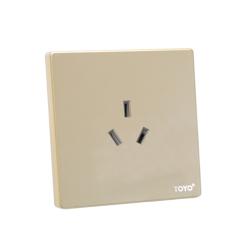 开关 16A空调专用三孔插座
