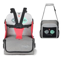 PacPro 儿童餐椅包 儿童增高餐椅&妈咪包2合1 PP12-51