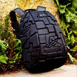 BLAVA 高端压塑尼龙布背包 BL-18-009