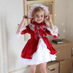 蔻儿丽莎 西班牙宫廷风连衣裙 91112