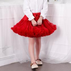 蔻儿丽莎 一代蝴蝶结女童tutu蓬蓬半身裙 9688
