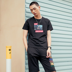 匡迪亚 时尚圆领T恤 W714