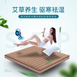 艾保 床垫 养生麻板