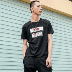 匡迪亚 时尚圆领T恤 W731